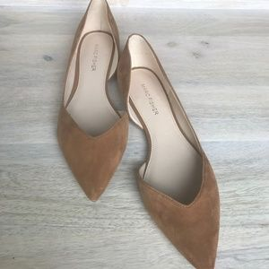 Marc Fisher Nude Flats - WORN ONCE